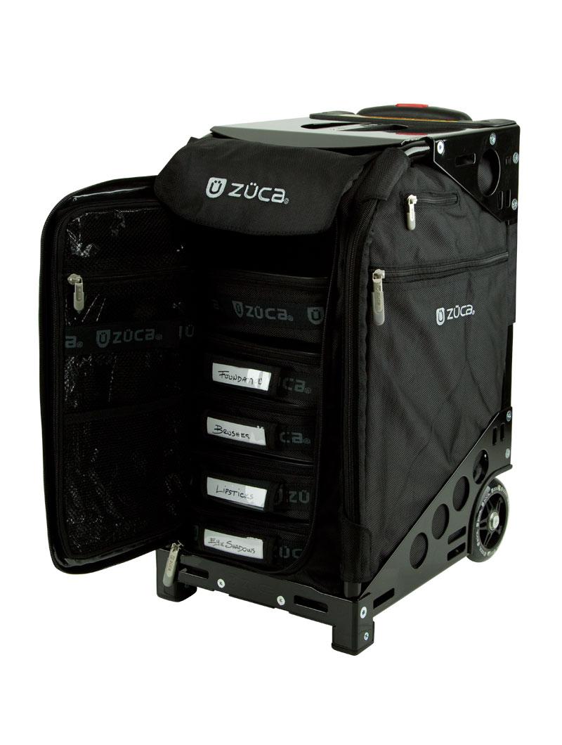 Zuca Pro Artist Case - Black on Black