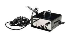 Iwata Ninja Jet + HP-CR Airbrush Complete System