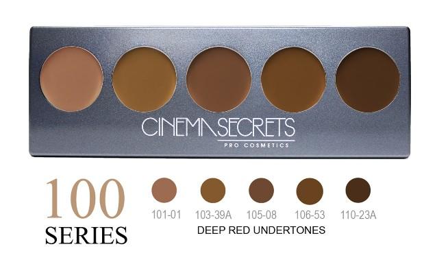 Cinema Secrets 100 Series Ultimate Foundation 5-IN-1 PRO Palette