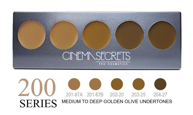 Cinema Secrets 200 Series Ultimate Foundation 5-IN-1 PRO Palette