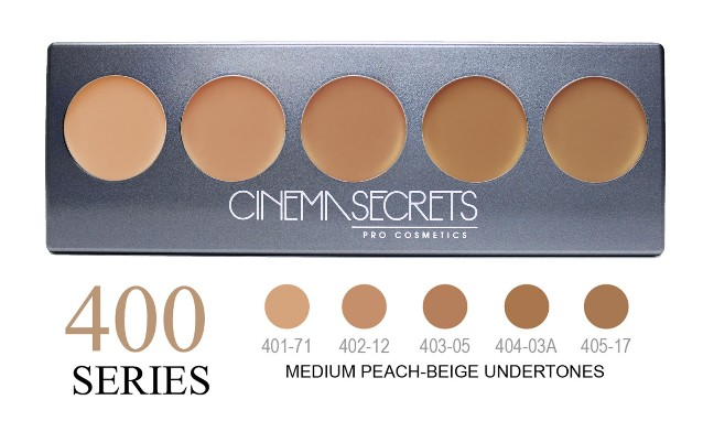 Cinema Secrets 400 Series Ultimate Foundation 5-IN-1 PRO Palette