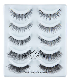 MODELROCK Lashes Multi Pack Say I Do 5 pair Lash pack Collection - Mixed Styles for Bridal