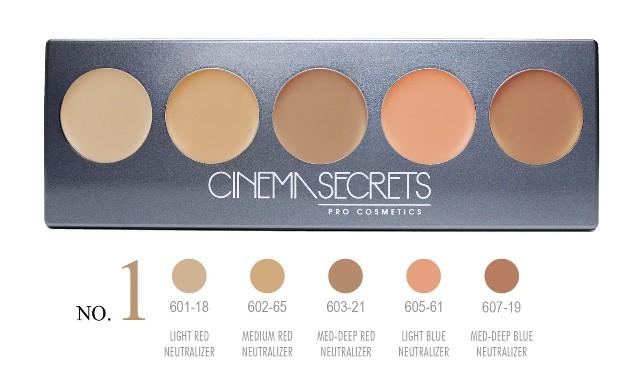 Cinema Secrets No. 1 Ultimate Corrector 5-IN-1 PRO Palette