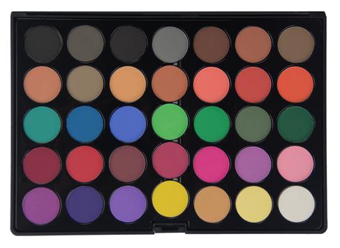 Crown Brush 35 Shade Matte Eye Shadow Palette