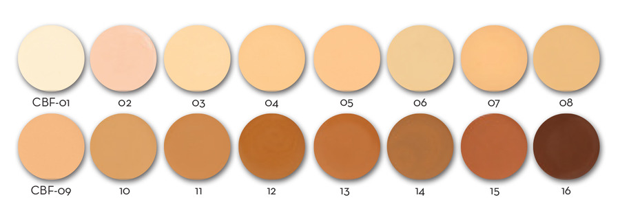 Elementwo Canvas Blend Foundation 30ml - 01 Ivory