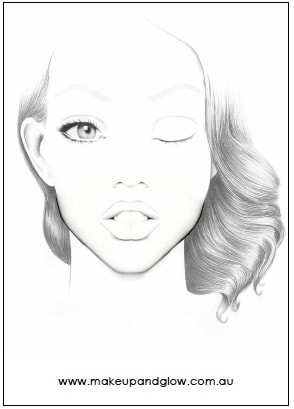 Makeup and Glow Original Face Charts