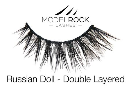 MODELROCK Lashes Multi Pack Russian Doll 2.0 Double Layered 5 pair Lash Pack