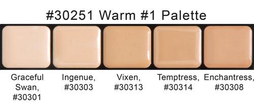 Graftobian HD Glamour Creme Palette - Warm #1