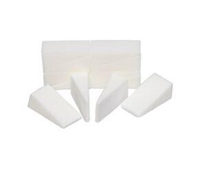 Crown Brush Non Latex Sponge Wedges 96/Pk