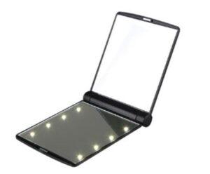 Crown Brush Pocket LED Mirror