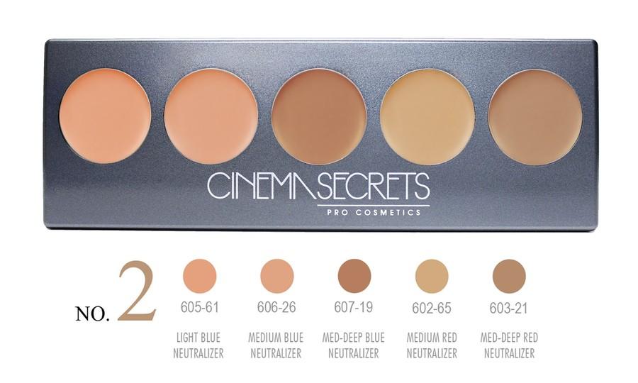 Cinema Secrets No. 2 Ultimate Corrector 5-IN-1 PRO Palette