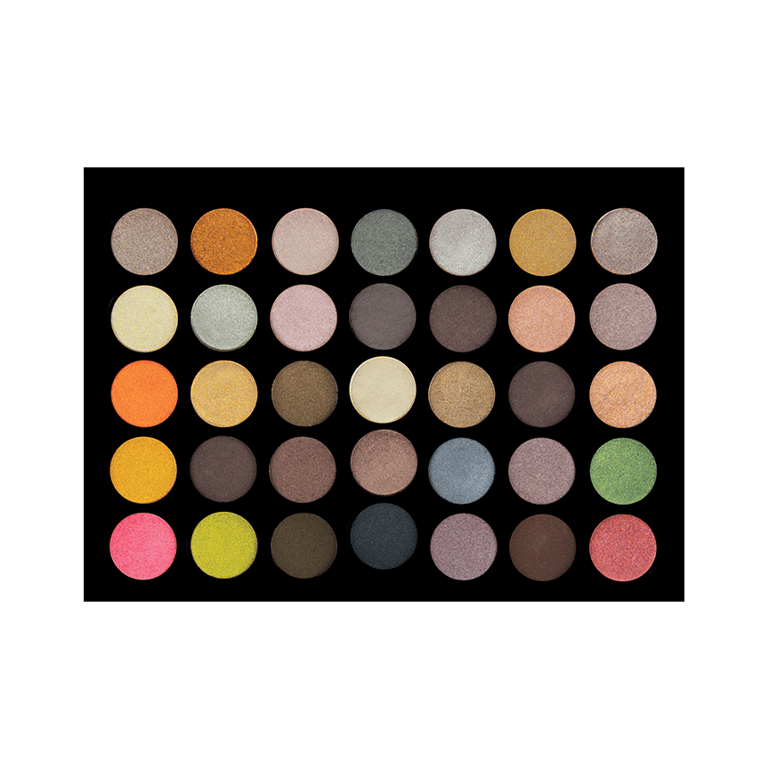 Crown Brush 35 Shade 'Metal Madness' Shadow Palette