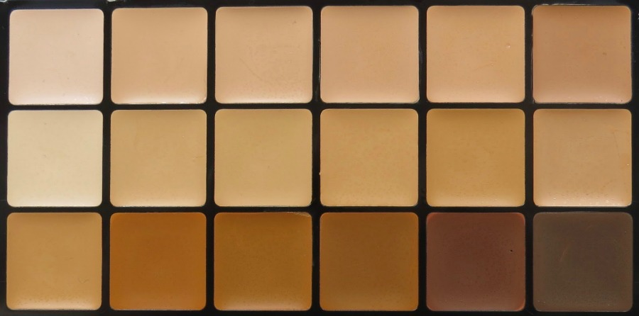 RCMA Custom Australian Foundation Palette 18 Shades