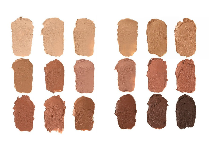 RCMA VK #10 Foundation Palette 18 Shades