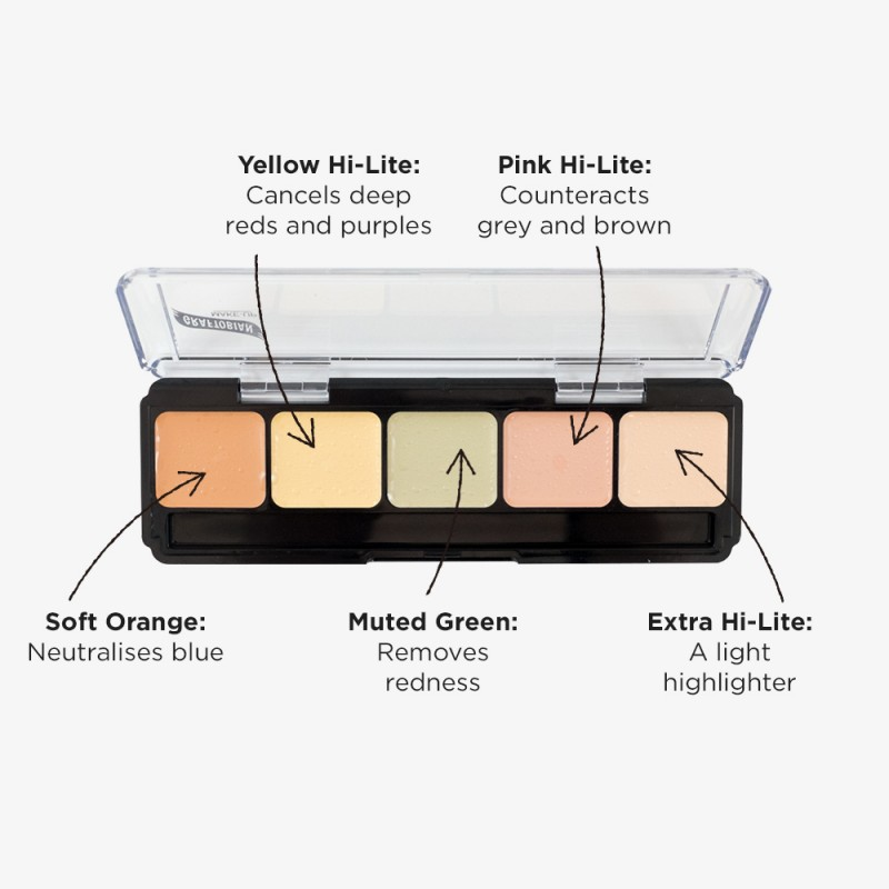 Graftobian Corrector Palette - Light