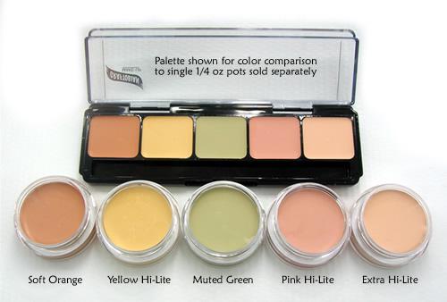 Graftobian Corrector Palette - Extra Hi-Lite Pot 1/4 oz **Distributor Out of Stock**
