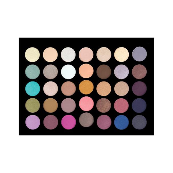 Crown Brush 35 Shade 'Back to Basics' Eyeshadow Palette