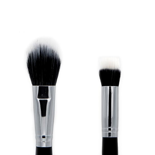 Crown Brush C490 Duo Fiber Blush/Blender