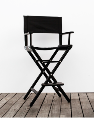 Portable + Folding Makeup Chair