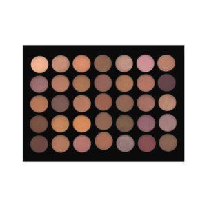 Crown Brush 35 Colour Java Eyeshadow Palette