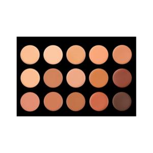 Crown Brush 15 Color Creme Foundation/Contour Palette