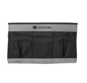ZUCA Artist Pro – Stylists pouch (Black & Grey)