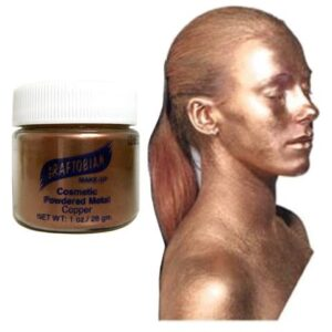 Graftobian Cosmetic Powder Metal Pot - Copper