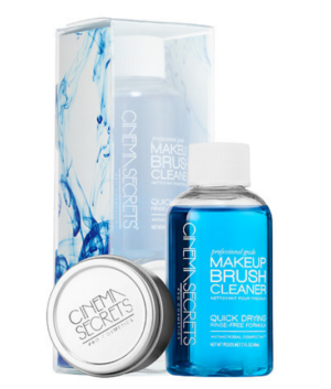 Cinema Secrets Professional Brush Cleaner 2oz / 60ml with Cleansing Tin