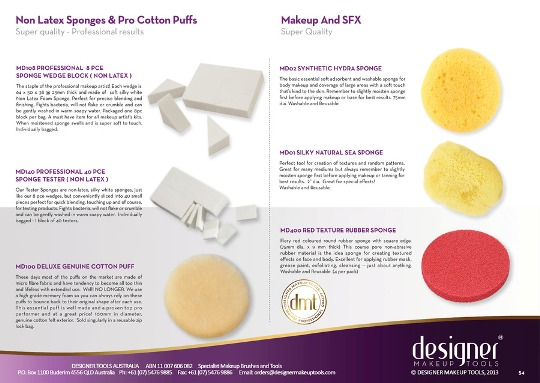 DMT  Red Texture Rubber Sponge - 4 Packs