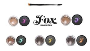 Fox Cosmetics Brow Butter and Spoolie Brush Pack