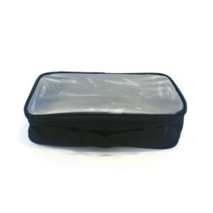 Crown Brush Cosmetic Pouch