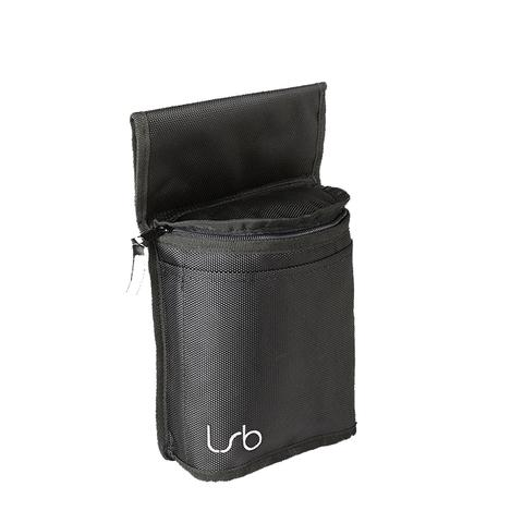 Linear Standby Belts The Demi Pouch - Black