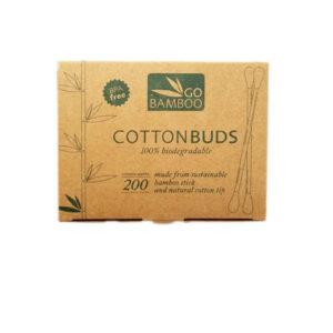 Go Bamboo Cotton Buds 200 pcs