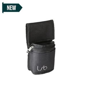 Linear Standby Belts The Mini Pouch Black