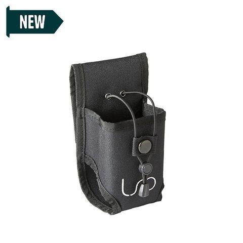 Linear Standby Belts Radio Holder - Black