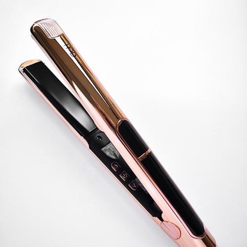 H2D Linear II Rose Gold Chrome Straightening Iron
