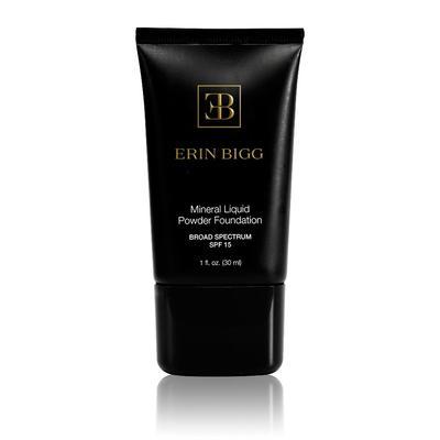 Erin Bigg Cosmetics Mineral Liquid Powder Foundation SPF 15 - Linen (very light - yellow base)