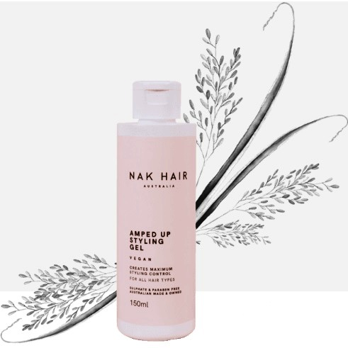 NAK Hair Amped Up Styling Gel 150 ml