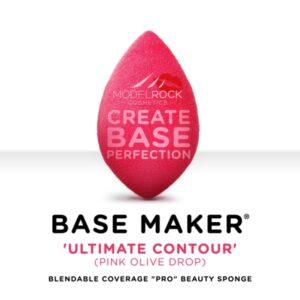 MODELROCK Base Maker® - Single Sponge - 'ULTIMATE CONTOUR' (Pink Olive Drop)