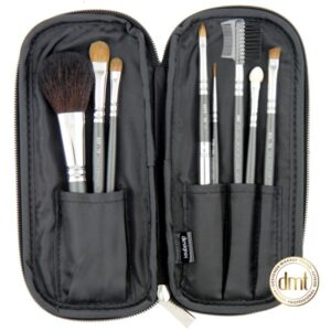 Designer Makeup Tools ZipAround Essentials Kit 8pce