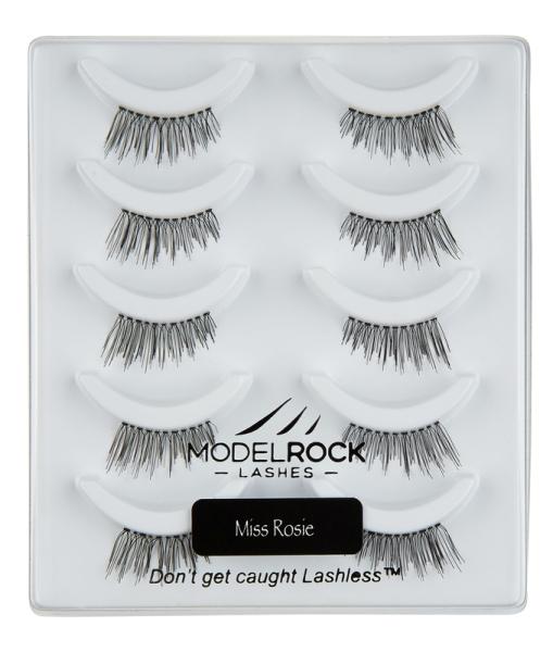 MODELROCK Lashes Multi Pack Miss Rosie 5 Pair Lash Pack
