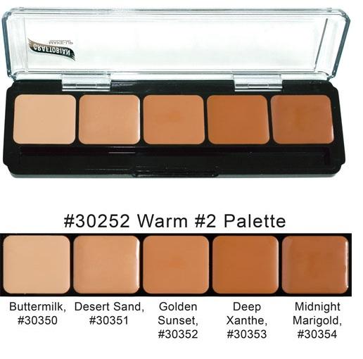 Graftobian HD Glamour Creme Palette - Warm #2