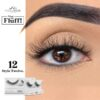 MODELROCK What The Fluff Lashes - Style Twelve
