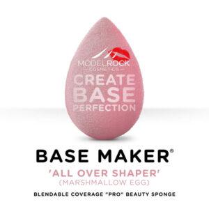 MODELROCK Base Maker® - Single Sponge - 'ALL OVER SHAPER' (Marshmallow Pink Egg) **Last Stock**