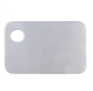 Stainless Steel Metal Palette with Hole