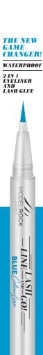 MODELROCK Lashes Line - Lash - Go! Eyeliner Glue Pen - Blue