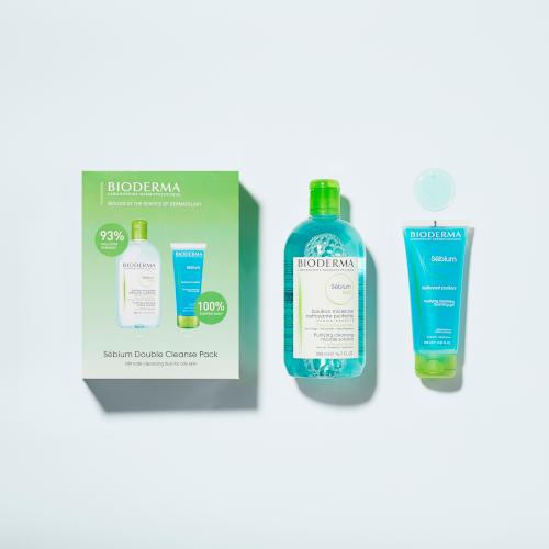 Bioderma Sebium Double Cleanse Pack