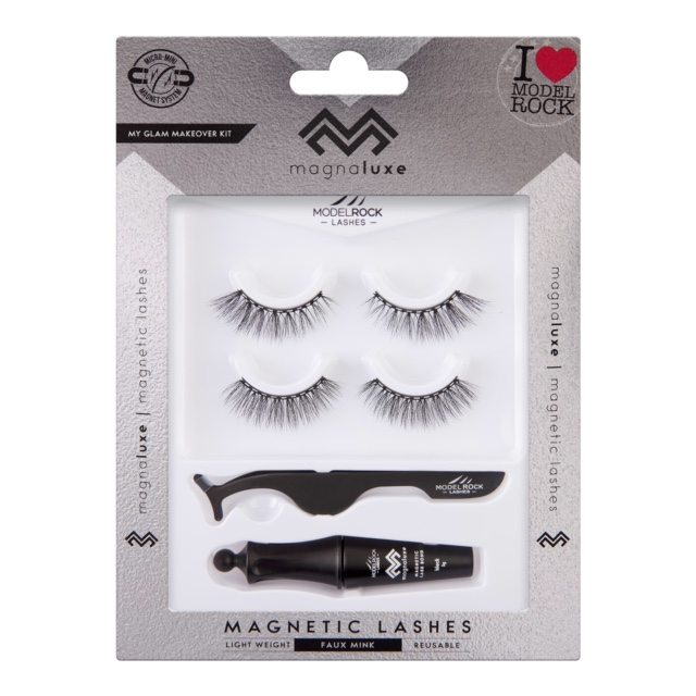 MODELROCK MagnaLuxe Magnetic Lashes - My Glam Makeover Lash Kit