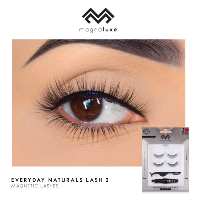 MODELROCK MagnaLuxe Magnetic Lashes - My Everyday Naturals Lash Kit