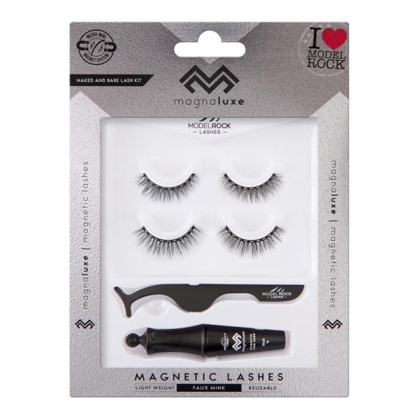MODELROCK MagnaLuxe Magnetic Lashes - Naked and Bare